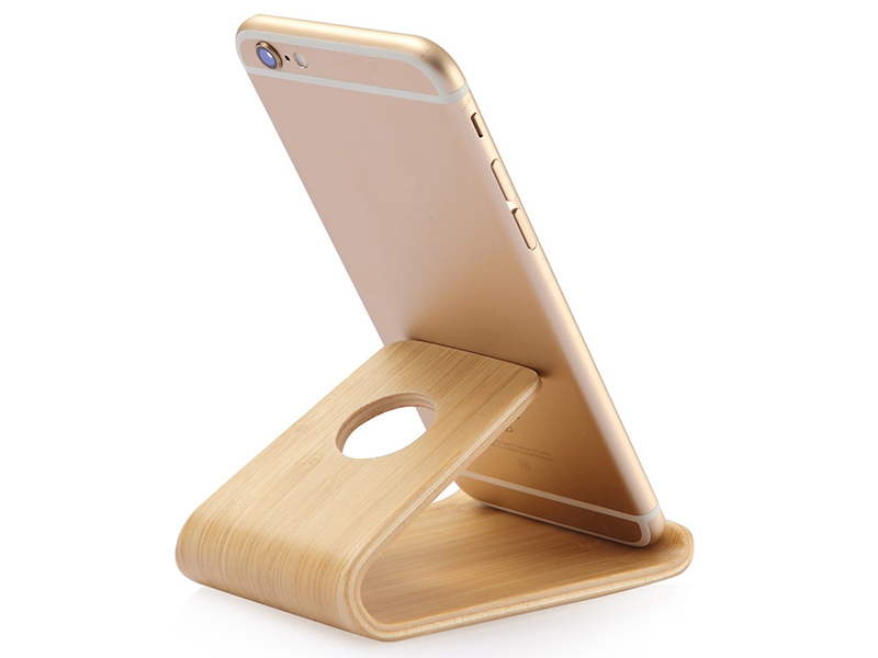 Lightweight Slim Wooden Mobile Phone Stand